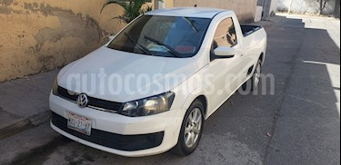 Volkswagen Saveiro Starline AC usado (2015) color Blanco precio $108,000