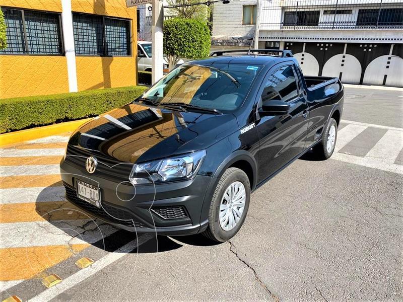 Volkswagen Saveiro Robust (Cabina Sencilla) usado (2020) color Negro Profundo precio $219,900