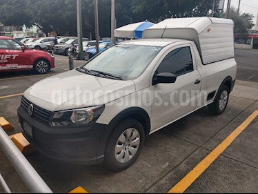 Volkswagen Saveiro Starline AC usado (2018) color Blanco Candy precio $195,000
