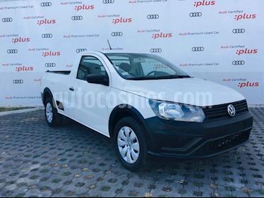 Volkswagen Saveiro 2p Starline L4/1.6 Man usado (2018) color Blanco precio $177,001