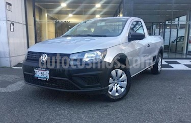 Volkswagen Saveiro 2P STARTLINE CABINA SENCILLA TM5 R-14 usado (2018) color Plata precio $185,000