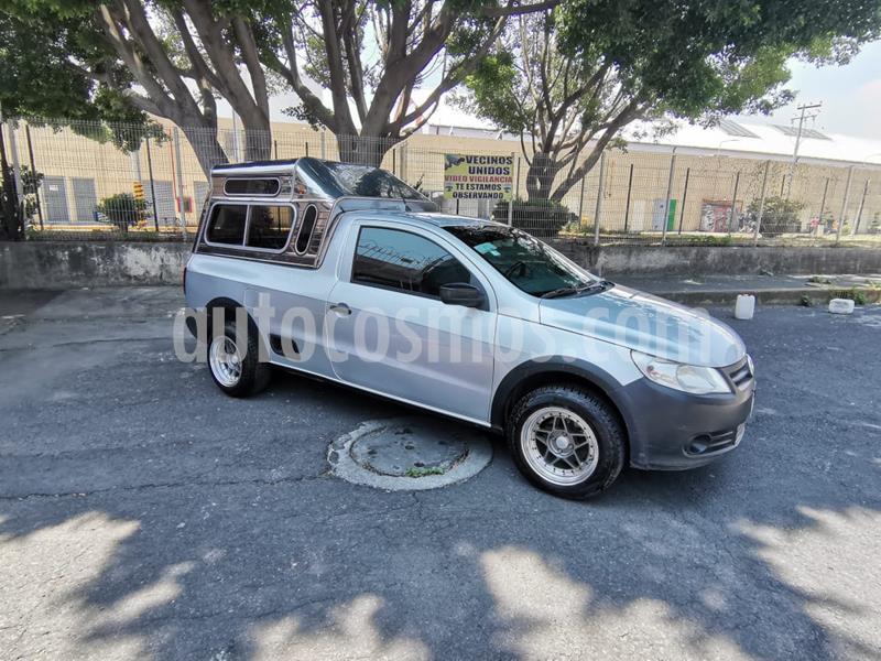 Volkswagen Saveiro Starline AC usado (2012) color Plata precio $133,000