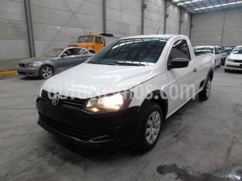 Volkswagen Saveiro Starline usado (2015) color Blanco precio $62,000