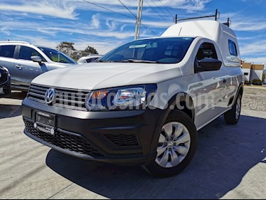 Volkswagen Saveiro Starline usado (2018) color Blanco Candy precio $195,000