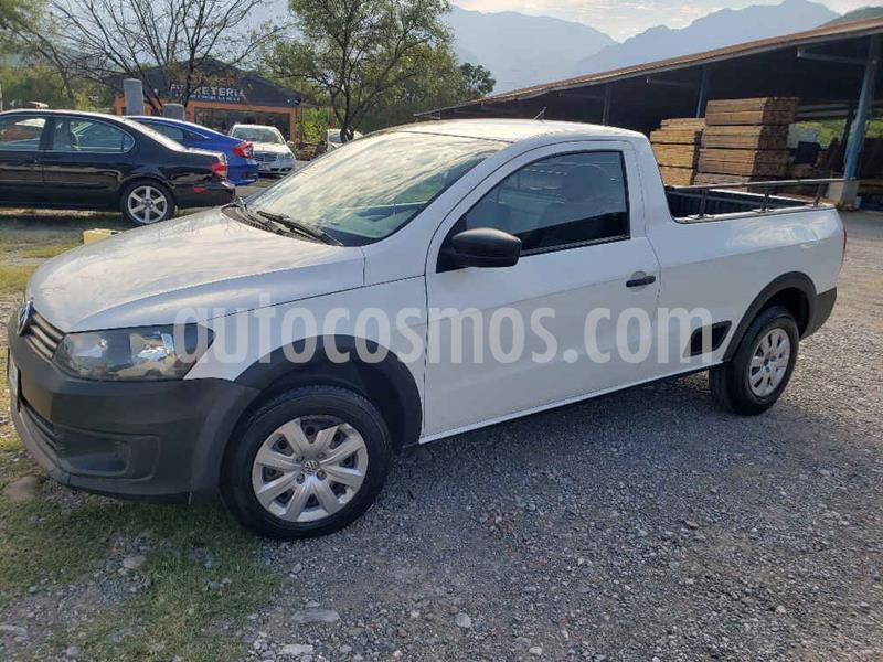 Volkswagen Saveiro Starline AC usado (2014) color Blanco precio $139,000