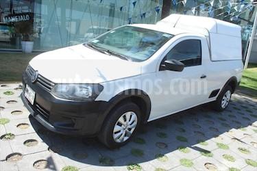Volkswagen Saveiro 2P STARLINE 1.6 usado (2014) color Blanco precio $135,000