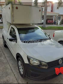 Volkswagen Saveiro Starline AC usado (2017) color Blanco Candy precio $175,000