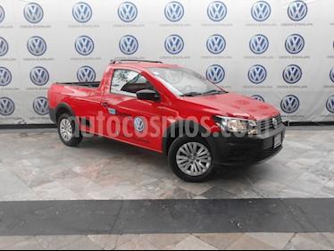 Foto Volkswagen Saveiro Robust (Cabina Sencilla) A/A usado (2019) color Rojo Flash