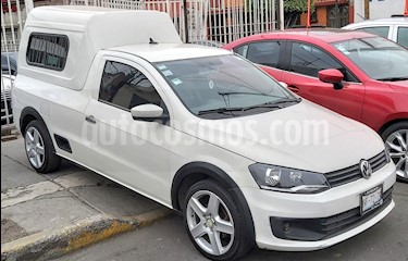 Volkswagen Saveiro Starline AC usado (2014) color Blanco Candy precio $140,000