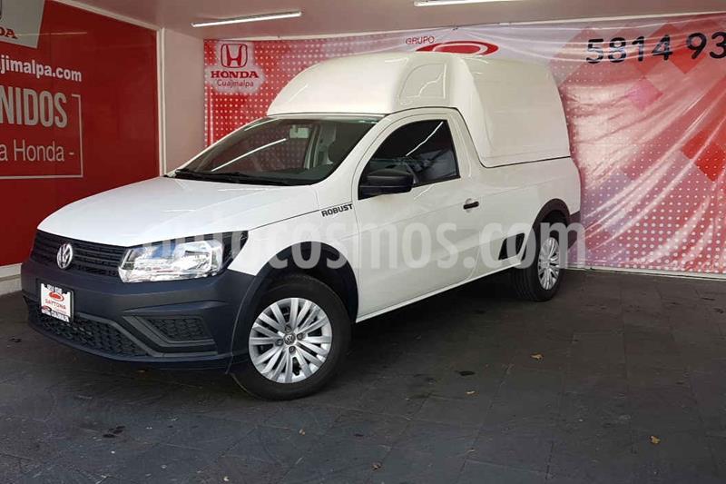 Volkswagen Saveiro Robust (Cabina Sencilla) A/A usado (2019) color Blanco precio $208,000
