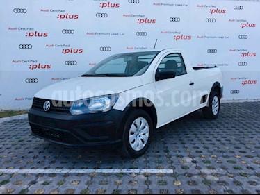 Volkswagen Saveiro 2p Starline L4/1.6 Man usado (2018) color Blanco precio $177,000