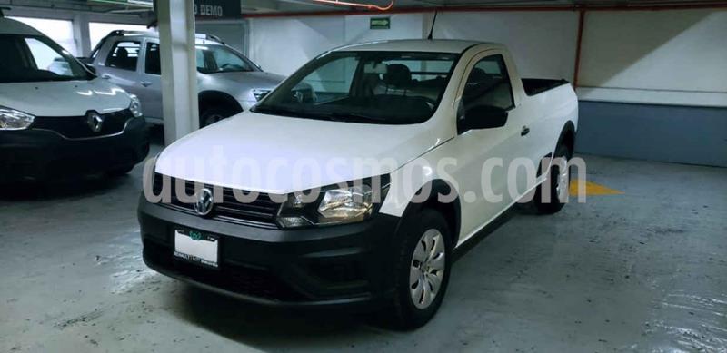 Volkswagen Saveiro Starline usado (2017) color Blanco precio $195,000