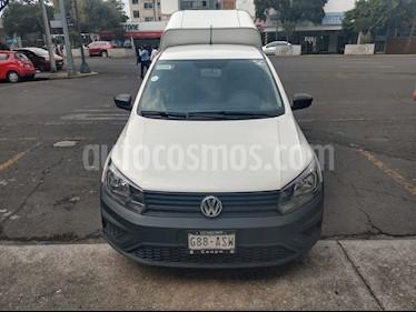 Volkswagen Saveiro Starline usado (2018) color Blanco precio $180,000