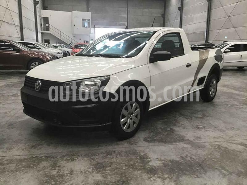 Volkswagen Saveiro Starline AC usado (2017) color Blanco precio $50,000