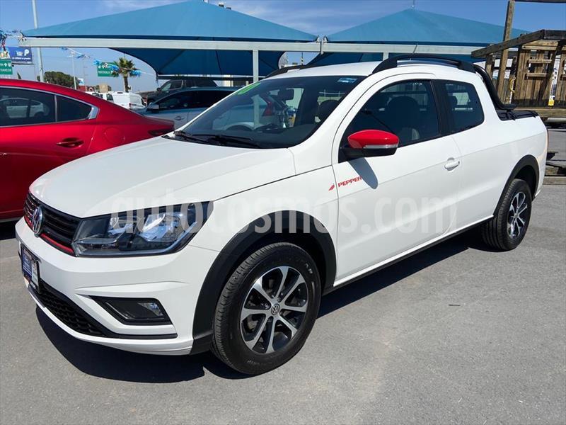 Volkswagen Saveiro PEPPER usado (2020) color Blanco precio $298,000