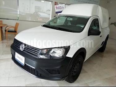 Volkswagen Saveiro Starline usado (2018) color Blanco precio $179,000