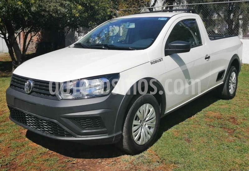 Volkswagen Saveiro Robust (Cabina Sencilla) usado (2020) color Blanco precio $227,000