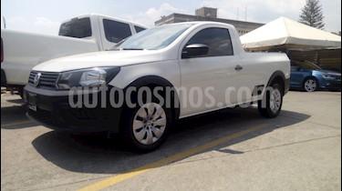 Volkswagen Saveiro Trendline usado (2017) color Blanco precio $174,900