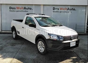 Volkswagen Saveiro 2p  Robust L4/1.6 Man usado (2019) color Blanco precio $246,990