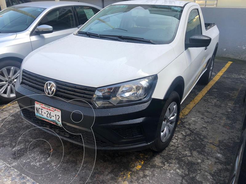 Foto Volkswagen Saveiro STARLINE CAB SENCILLA usado (2018) color Blanco Candy precio $225,000