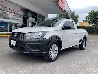 Foto Volkswagen Saveiro Robust (Cabina Sencilla) usado (2019) color Blanco precio $195,000