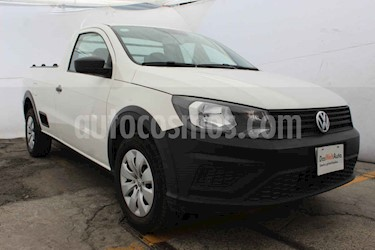 Foto Volkswagen Saveiro Starline AC usado (2018) color Blanco precio $182,200