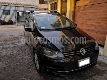 Volkswagen Spacefox 1.6L Trendline  usado (2014) color Negro precio u$s9,100
