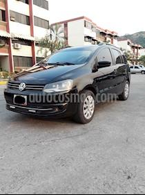 Volkswagen Spacefox Highline 1.6L usado (2012) color Negro precio u$s3.900