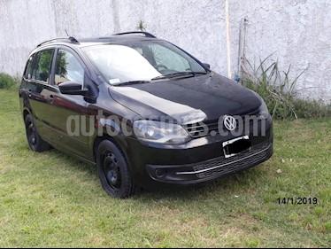 Volkswagen Suran 1.6 Comfortline usado (2011) color Negro precio $190.000