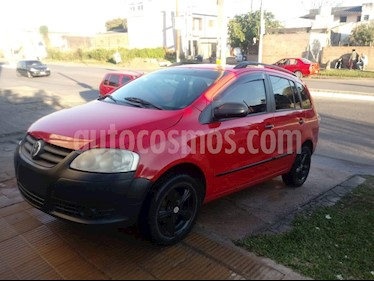 Foto venta Auto usado Volkswagen Suran 1.6 Comfortline (2010) color Rojo Syrah precio $227.000