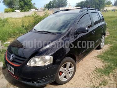 Volkswagen Suran 1.6 Track usado (2009) color Negro precio $250.000
