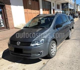 Foto venta Auto usado Volkswagen Suran 1.6 Trendline (2010) color Gris Oscuro precio $180.000
