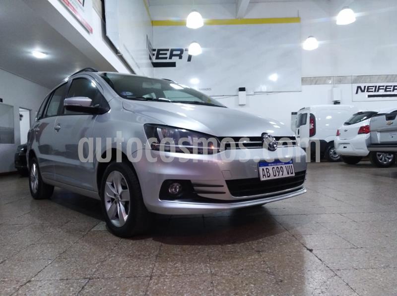 Volkswagen Suran 1.6 Highline 2G I-Motion usado (2017) color Gris Claro precio $800.000