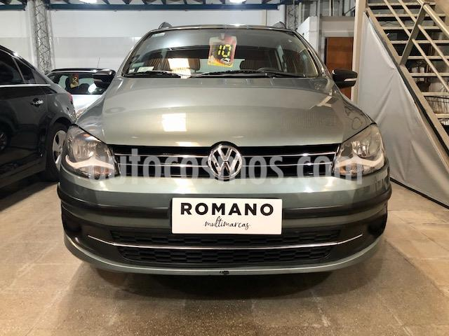 Volkswagen Suran 1.6 Trendline usado (2010) color Gris Titanio precio $470.000