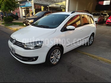Volkswagen Suran 1.6 Highline Plus usado (2013) color Blanco Cristal precio $520.000