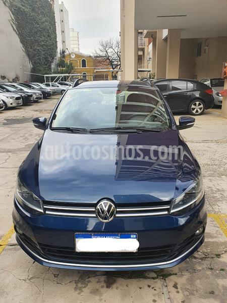 Volkswagen Suran 1.6 Trendline usado (2017) color Azul Cobalto precio $780.000