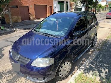 Volkswagen Suran 1.6 Comfortline usado (2008) color Azul Indigo precio $299.900