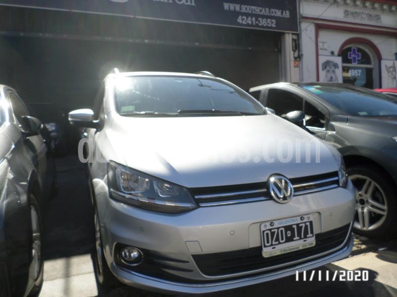 Volkswagen Suran 1.6 Highline Plus usado (2015) color Gris Claro precio $570.000
