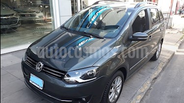 Volkswagen Suran 1.6 Highline I-Motion Plus usado (2014) color Gris Vulcano precio $450.000