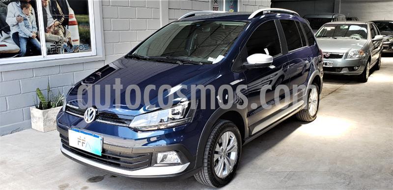 Volkswagen Suran Cross 1.6 Highline usado (2019) color Azul precio $1.499.000