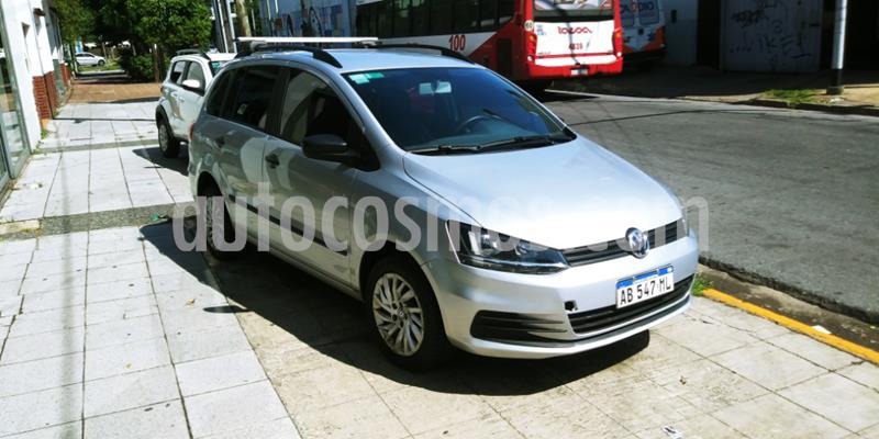 Volkswagen Suran 1.6 Comfortline usado (2017) color Gris Claro precio $1.000.000