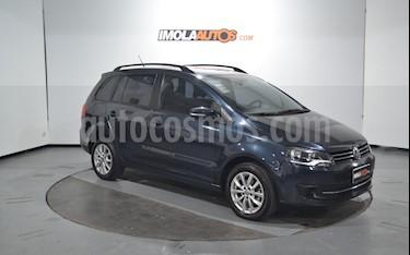 Volkswagen Suran 1.6 Trendline usado (2013) color Azul Starlight precio $415.000