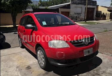 Volkswagen Suran 1.6 Comfortline usado (2009) color Rojo Syrah precio $205.000