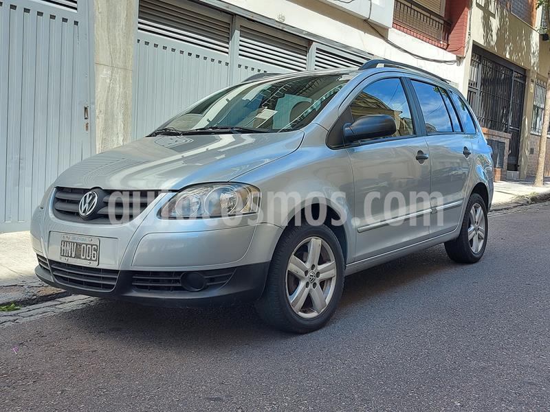 Volkswagen Suran 1.6 Trendline usado (2008) color Gris Titanio precio $498.000
