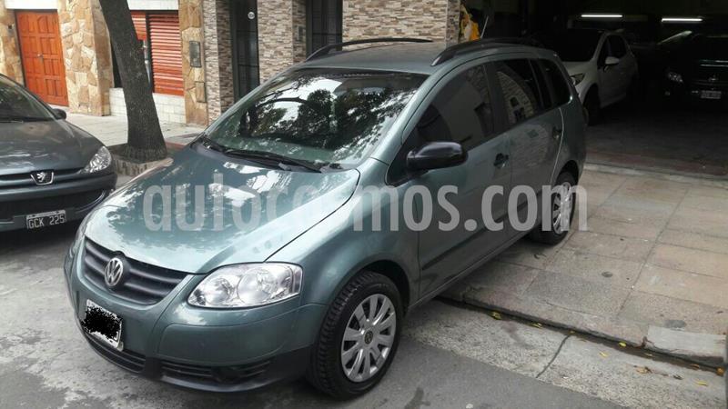 Volkswagen Suran 1.6 Comfortline usado (2010) color Verde precio $390.000