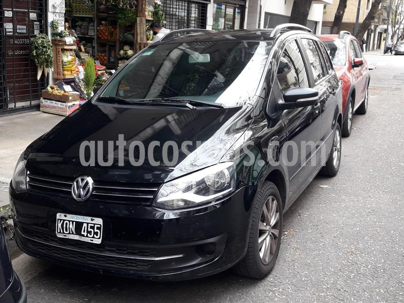 Volkswagen Suran 1.6 Trendline usado (2011) color Negro precio $422.000