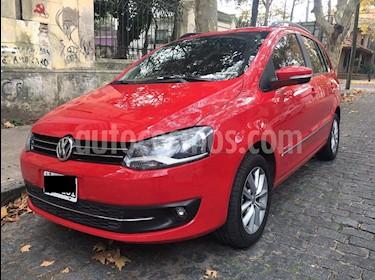 Volkswagen Suran 1.6 Highline 2G I-Motion usado (2010) color Rojo precio $570.000
