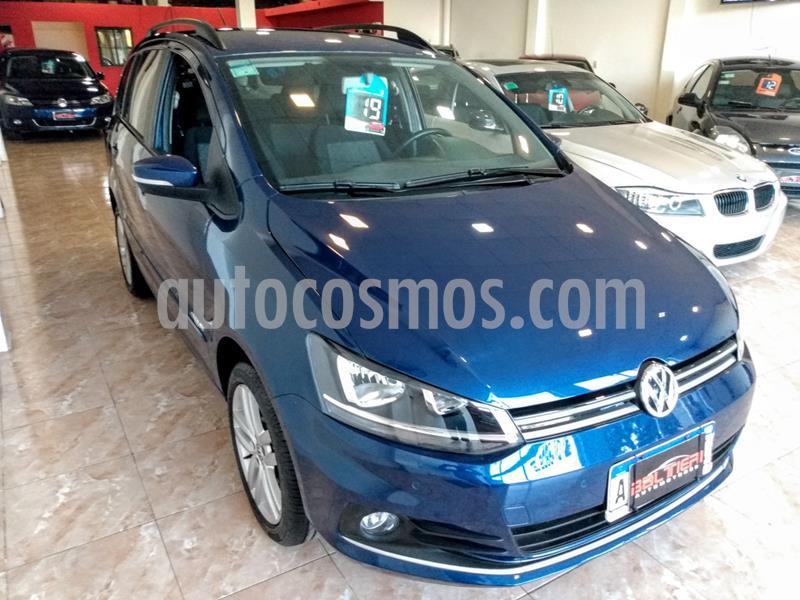 foto Volkswagen Suran 1.6 Highline Plus usado (2019) color Azul precio $1.480.000