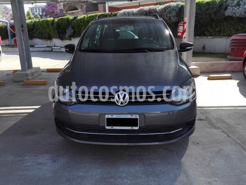 Volkswagen Suran 1.6 Trendline usado (2014) color Gris Off-Road precio $610.000