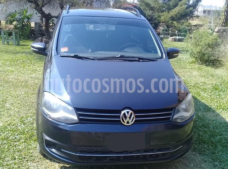 foto Volkswagen Suran 1.6 Trendline usado (2013) color Azul Starlight precio $590.000